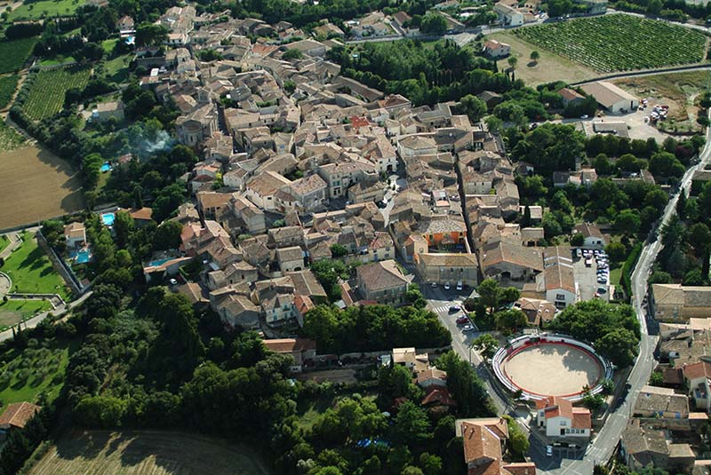 photo aerienne de Saint Christol